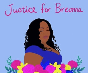 justice, blm, and sayhername image