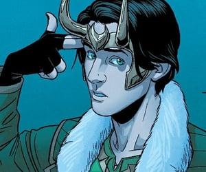 Marvel, loki, and comic image