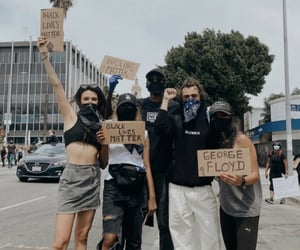 Harry Styles, black lives matter, and protest image
