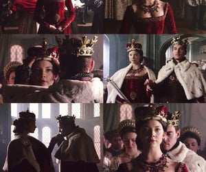 anne boleyn, couple, and crown image