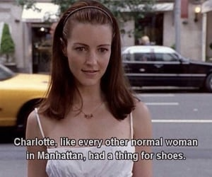 charlotte, sex and the city, and shoes image