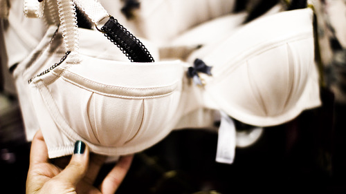 bow, bra, and lace image