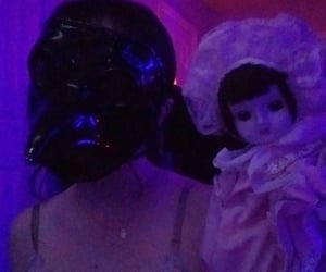aesthetic, mask, and doll image