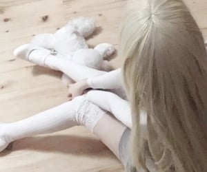 doll, soft, and cute image
