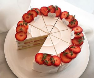 dessert and love image