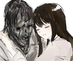 anime, creepy, and animecore image