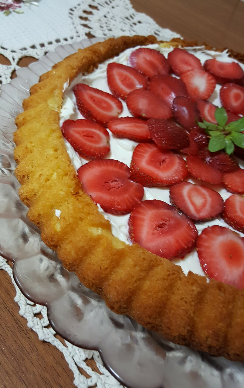 berry, cake, and desert image