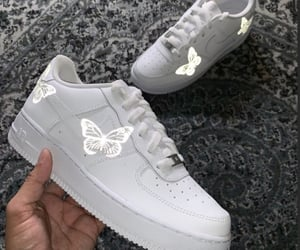 butterfly, shoes, and sneakers image
