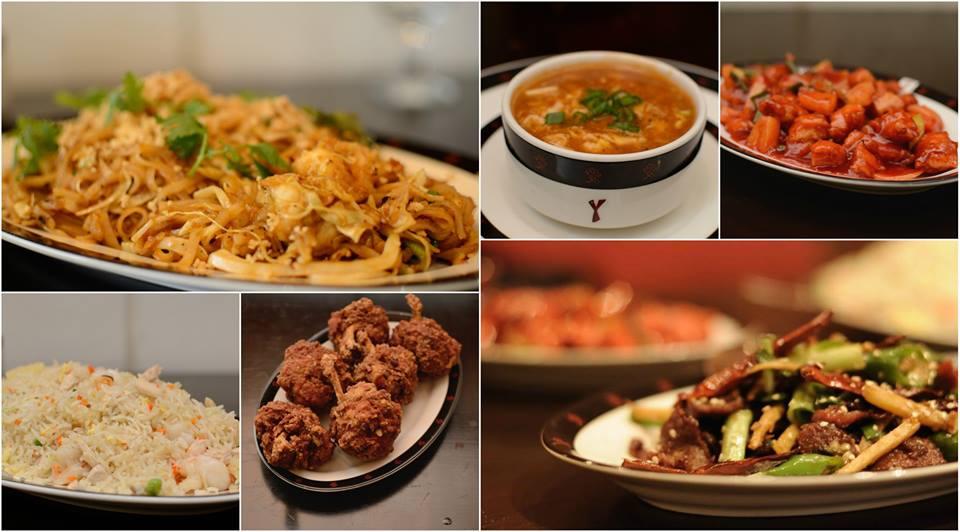 chinese food, food, and thai food image