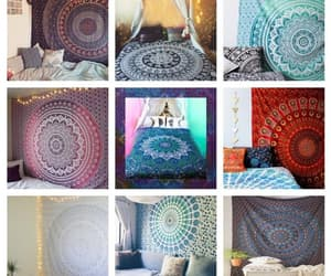 etsy, indian tapestry, and mandala tapestry image