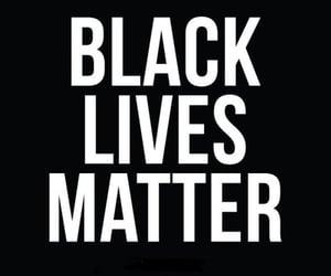 article, blm, and blacklivesmatter image