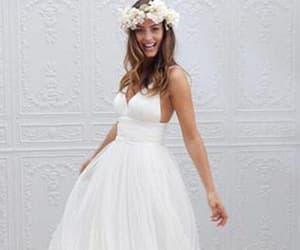 weddingdress, wedding, and weddinggown image