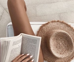 book, summer, and aesthetic image