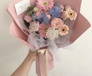 aesthetic, beautiful, and bouquet image
