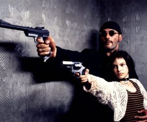 leon, natalie portman, and movie image