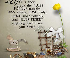 quote, text, and kiss image