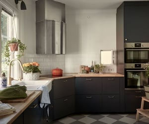 apartment, cooking, and design image
