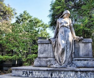 architecture, cementery, and naturaleza image