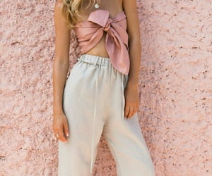 blanco, conjunto, and moda image