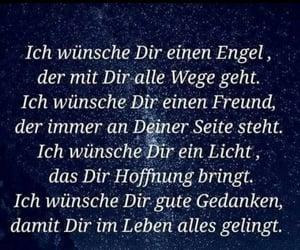 deutsch, text, and engel image