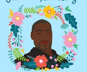 black lives matter, george floyd, and justice image
