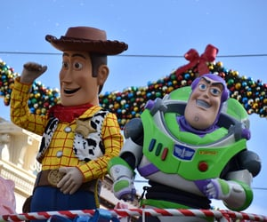 adventure, buzz lightyear, and holiday image