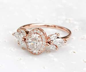 etsy, engagementring, and cluster ring image