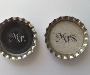 bride and groom, etsy, and refrigerator magnets image