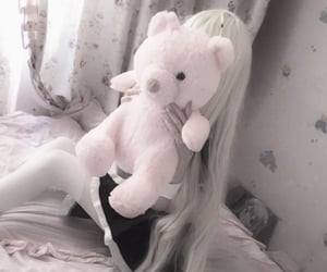 blonde, doll, and kawaii image