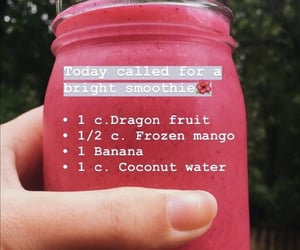 healthy, smoothie, and healthy smoothie image