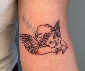 angel, art, and tattoo image