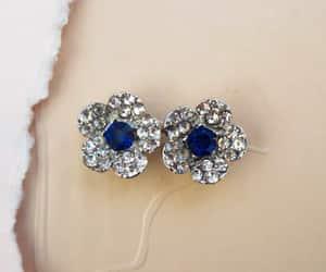 romantic earrings, bridesmaid earrings, and dainty earrings image