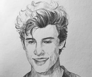 shawn mendes and drawing image