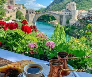 adventure, architecture, and breakfast image