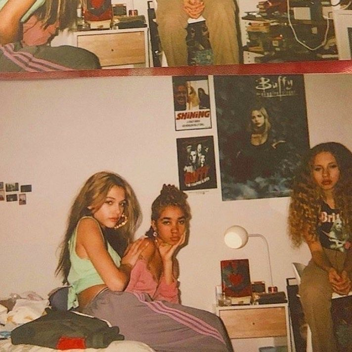2000s, girls, and 90s image