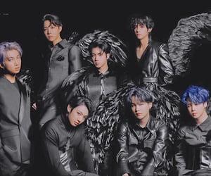 black, group, and jungkook image
