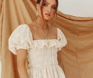 boho, embroidery, and fashion image
