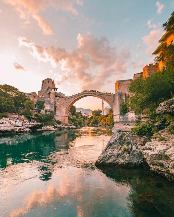 architecture, bridge, and cityscape image