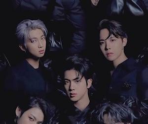 black, jungkook, and suga image