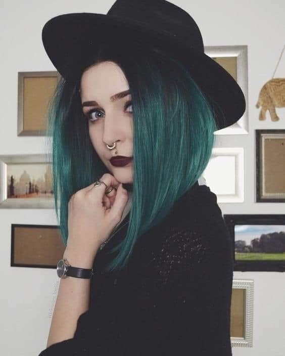 colores, cabello, and cabello de colores image