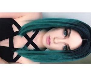 cabello, cabello de colores, and colores de cabello image