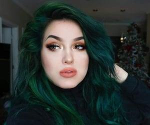 colores, cabello tenido, and tintes de colores image