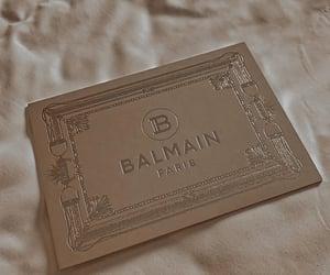 Balmain, fashion, and gold image