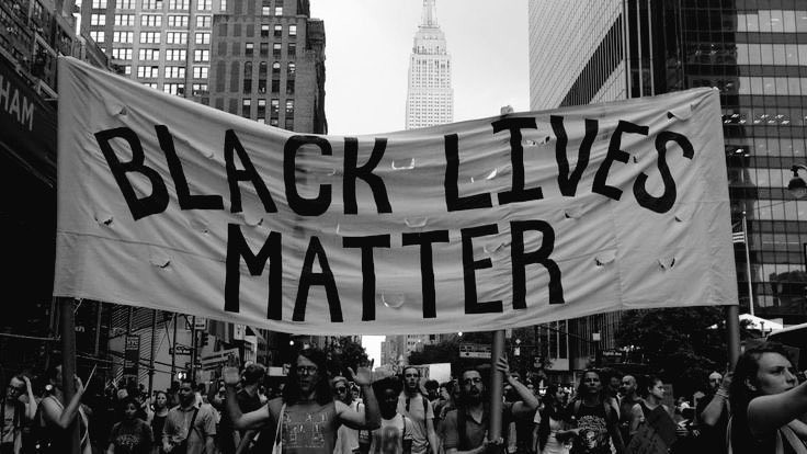 protest, article, and black lives matter image