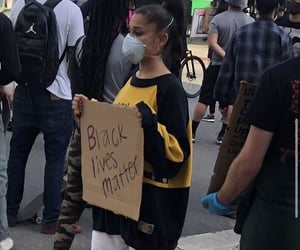 ariana grande, black lives matter, and blm image
