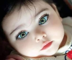 baby, children, and eyes image