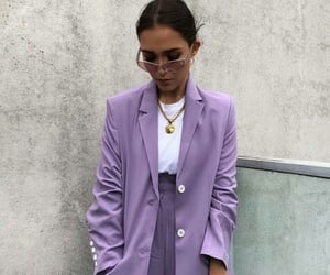fashion, purple, and accessories image