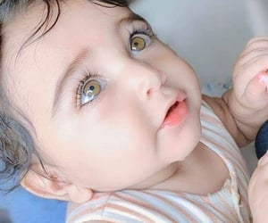 baby, girl, and beautiful image