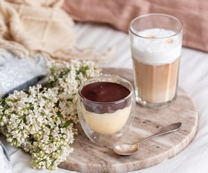 coffee, delicious, and dessert image