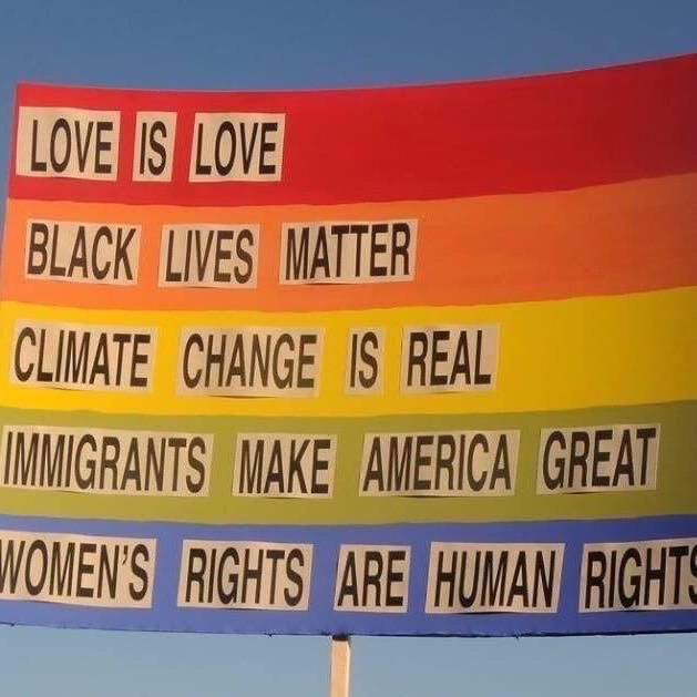 climate change, gay rights, and human rights image